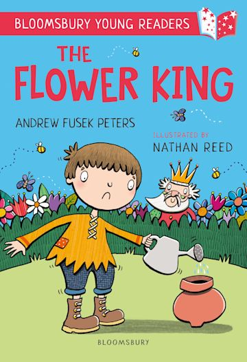 The Flower King: A Bloomsbury Young Reader cover