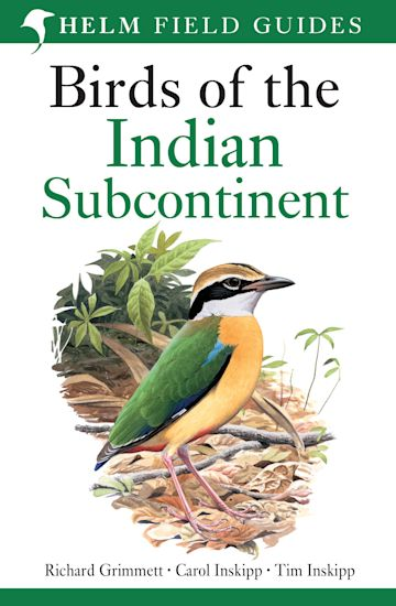 Birds of the Indian Subcontinent cover