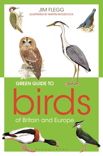 Green Guide to Birds Of Britain And Europe cover