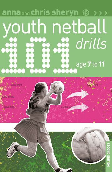 101 Youth Netball Drills Age 7-11 cover