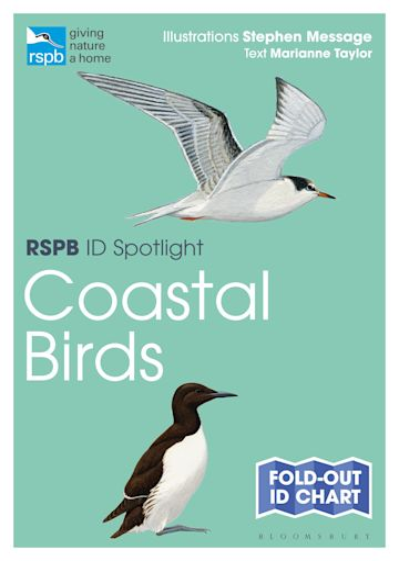 RSPB ID Spotlight - Coastal Birds cover