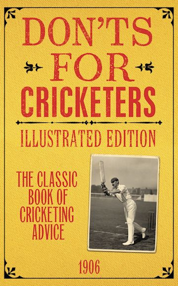 Don'ts for Cricketers cover