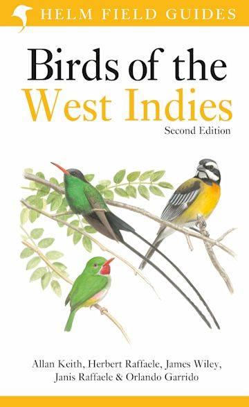 Field Guide to Birds of the West Indies cover
