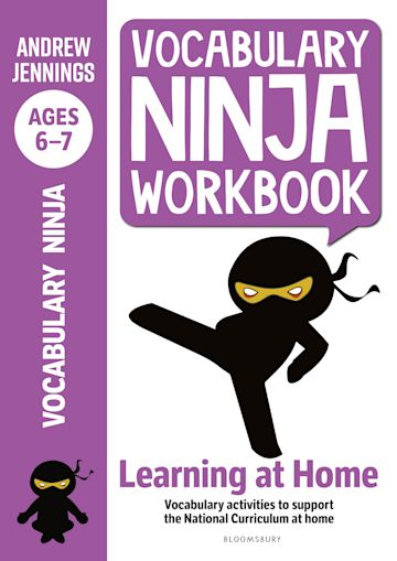Vocabulary Ninja Workbook for Ages 6-7 cover