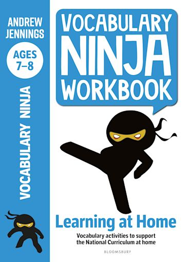 Vocabulary Ninja Workbook for Ages 7-8 cover