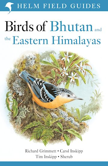 Birds of Bhutan and the Eastern Himalayas cover