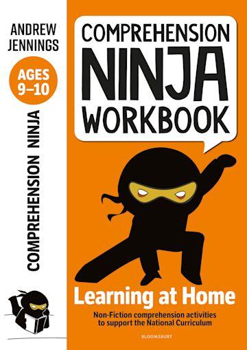 Comprehension Ninja Workbook for Ages 9-10 cover