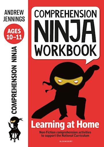 Comprehension Ninja Workbook for Ages 10-11 cover