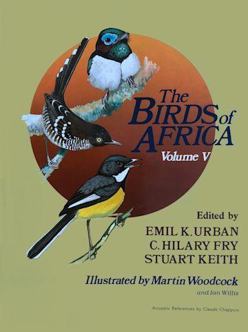 The Birds of Africa: Volume V cover