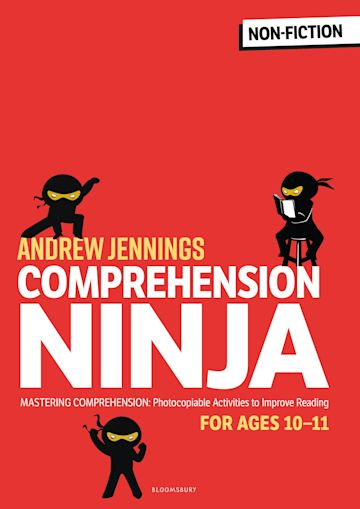 Comprehension Ninja for Ages 10-11: Non-Fiction cover