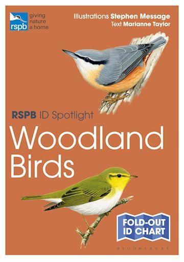 RSPB ID Spotlight - Woodland Birds cover