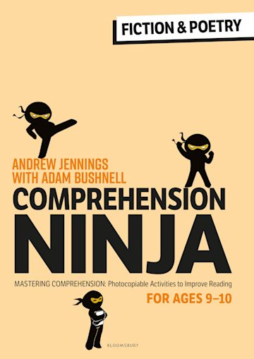 Comprehension Ninja for Ages 9-10: Fiction & Poetry cover