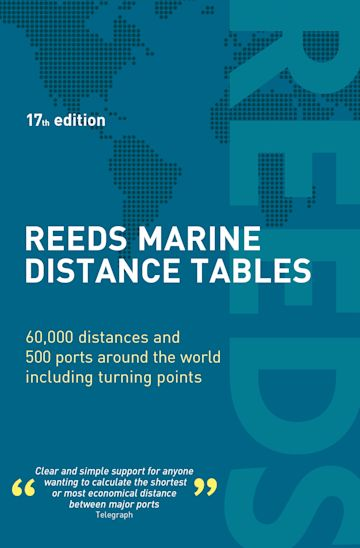 Reeds Marine Distance Tables 17th edition cover
