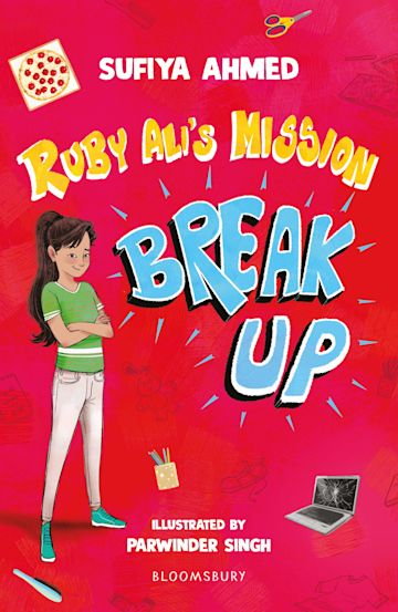 Ruby Ali's Mission Break Up: A Bloomsbury Reader cover