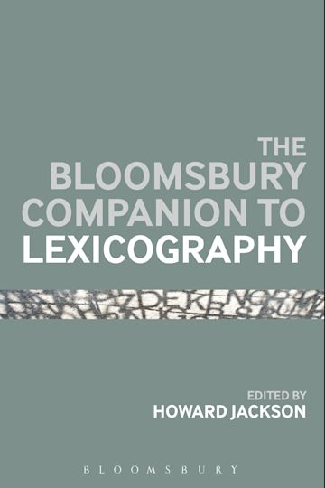 The Bloomsbury Companion To Lexicography cover