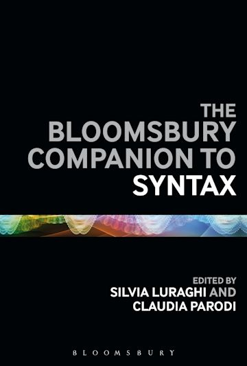 The Bloomsbury Companion to Syntax cover