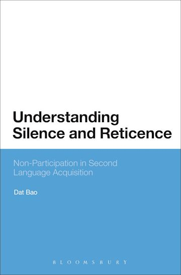 Understanding Silence and Reticence cover