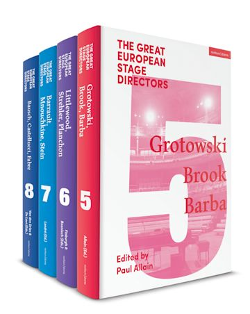The Great European Stage Directors Set 2 cover