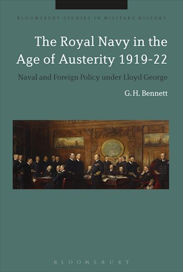 The Royal Navy in the Age of Austerity 1919-22 cover
