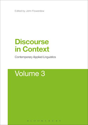 Discourse in Context: Contemporary Applied Linguistics Volume 3 cover