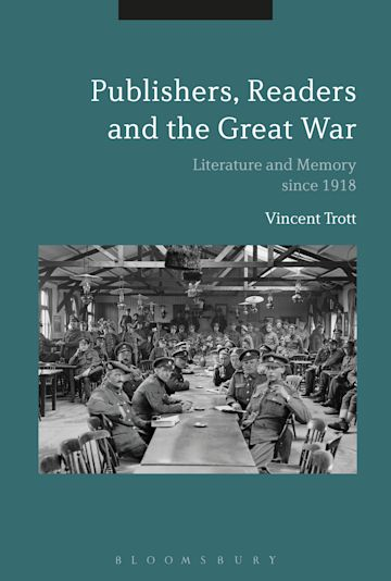 Publishers, Readers and the Great War cover