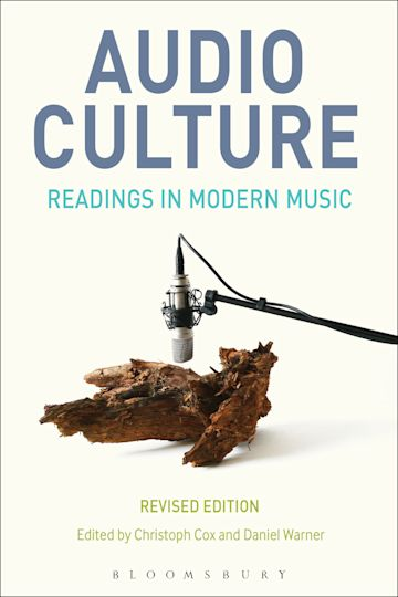 Audio Culture, Revised Edition cover