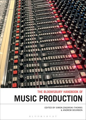 The Bloomsbury Handbook of Music Production cover