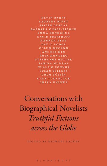Conversations with Biographical Novelists cover