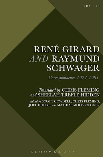 René Girard and Raymund Schwager cover