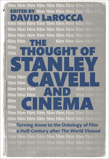 The Thought of Stanley Cavell and Cinema cover
