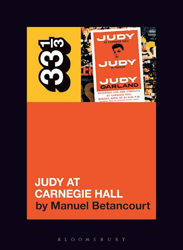Judy Garland's Judy at Carnegie Hall cover