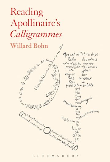 Reading Apollinaire's Calligrammes cover