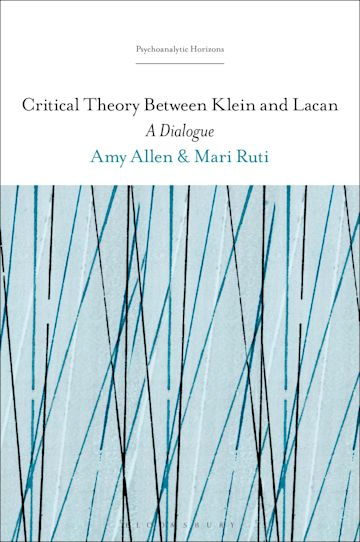 Critical Theory Between Klein and Lacan cover