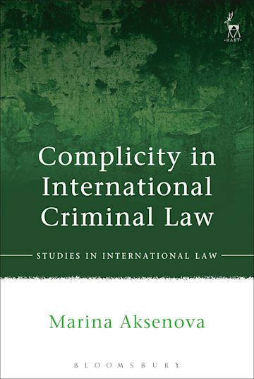 Complicity in International Criminal Law cover