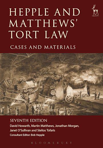 Hepple and Matthews' Tort Law cover