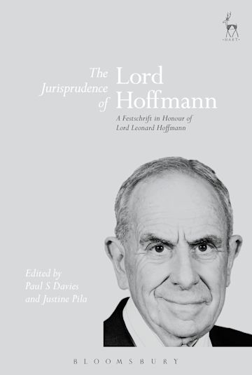 The Jurisprudence of Lord Hoffmann cover