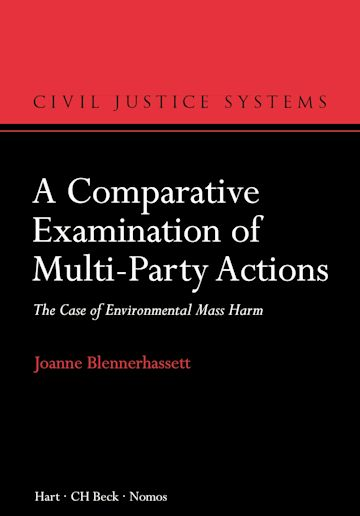 A Comparative Examination of Multi-Party Actions cover