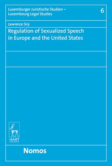 Regulation of Sexualized Speech in Europe and the United States cover