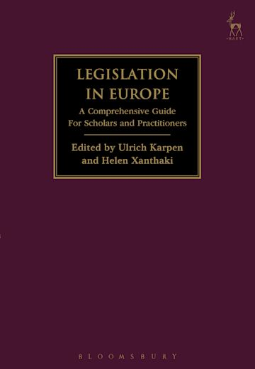 Legislation in Europe cover