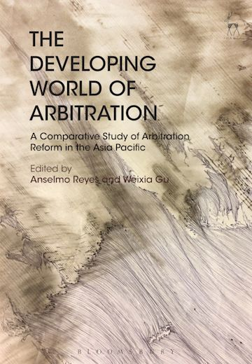 The Developing World of Arbitration cover