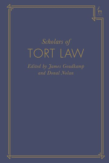 Scholars of Tort Law cover