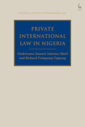 Private International Law in Nigeria cover