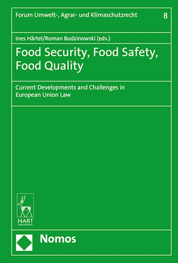 Food Security, Food Safety, Food Quality cover