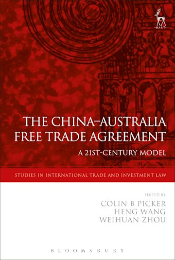The China-Australia Free Trade Agreement cover