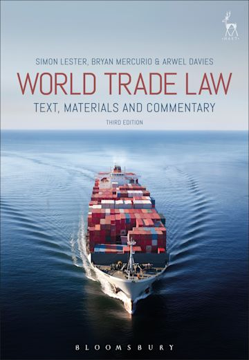 World Trade Law cover