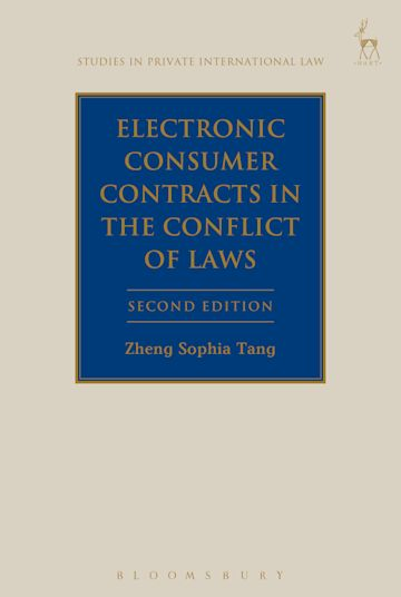Electronic Consumer Contracts in the Conflict of Laws cover