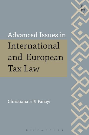 Advanced Issues in International and European Tax Law cover