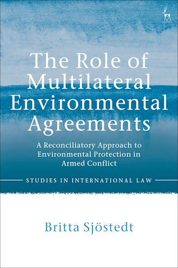 The Role of Multilateral Environmental Agreements cover