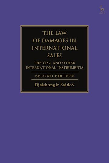 The Law of Damages in International Sales cover