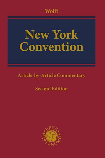 New York Convention cover